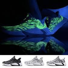 Men's Fashion Running Shoes <b>Luminous Outdoor Sports</b> Shoes ...