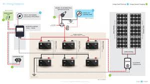 solar power system wiring diagram fitfathers me RV Systems Monitor Panel solar power system wiring diagram