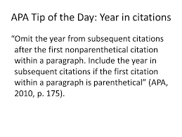 APA Tip Of The Day Quotes Ppt Download Mesmerizing Citing A Quote Apa