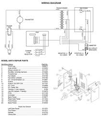 6006 associated battery charger parts list 6006 associated battery charger wiring diagram