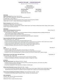 Resume Objectives Examples For Students – Resume Tutorial