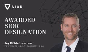 Jay Richter Awarded SIOR Designation by the Society of Industrial ...