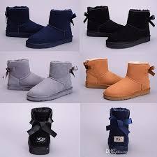 grey classic wgg brand women popular australia genuine leather boots black navy blue fashion women s snow boots us5 us10 free