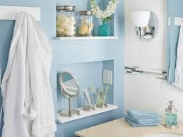 recessed bathroom shelving gain storage