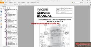 paccar multiplexed service manuals auto repair manual forum