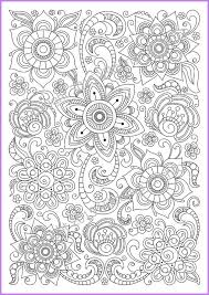 Small Picture Coloring page PDF adults and children printable by ZentangleHouse
