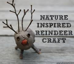 Image result for clay and twig reindeer