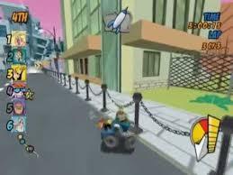 cartoon network racing ps2 gameplay