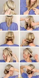 Genial Hochsteckfrisuren Kurze Lockige Haare Deltaclic