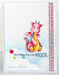 Note Card Maker Mft Magical Dragon Wm Jpg Tarjetas Bonitas 1 Pinterest Dragons