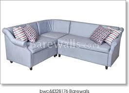 light gray corner fold out upholstered