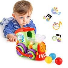 Baby Toys Car 1 2 3 Year Old, Toddler Boy Cars Train Balls, Lights Music, Early Educational Locomotive Toy, Gifts 1-2-3 Old Boys Girls Amazon.com: