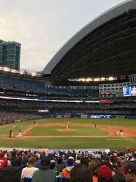 Rogers Centre Section 118r Home Of Toronto Blue Jays