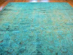 blue overdyed rug png