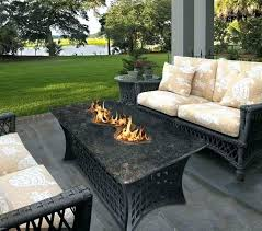 showy rectangular fire pit coffee table propane fire pit coffee table napoleon rectangle propane fire pit