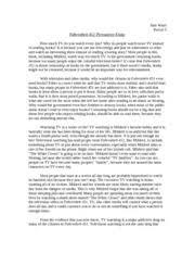 analysis essay on fahrenheit  literary analysis essay on fahrenheit 451