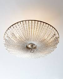john richard lighting. John-Richard Collection Beaded Crystal Six-Light Semi-Flush Ceiling Fixture John Richard Lighting