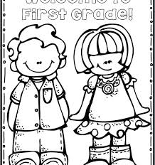 First Grade Coloring Sheets Collection Of Coloring Pages