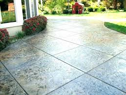 concrete patio cost stamped ideas around pool for cement imprinted uk concrete patio cost