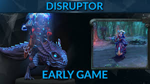 disruptor early game dota 2 hero guide gameleap youtube