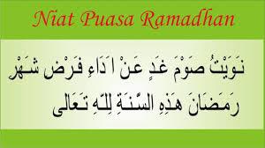 Niat puasa sunah senin kamis lengkap. Niat Puasa Ramadhan Harian Sebulan Serta Rumi Jawi Wirid Dan Doa