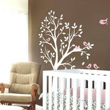 tree of life decal for walls tree with birds and nest decal bird nest tree  wall