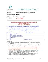 National Medical Policy Health Net Pages 1 17 Text Version