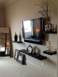 Floating Shelves For Tv Accessories Shelf Shelf Floating Wood Shelves Displaying Accessories And 2