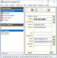 Download Digital Phonebook 2003 5 0