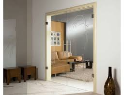 internal glass double doors full glass door