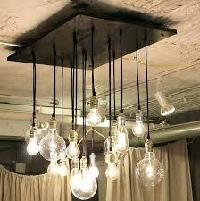 chandelier light lit bulbs sizes