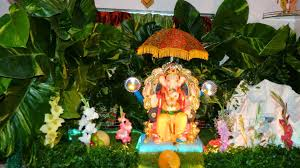 eco friendly ganapati decoration at home image source you
