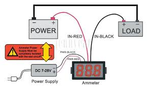 digital panel meter wiring diagram amp ammeter schematic and auto meter amp gauge wiring diagram digital panel meter wiring diagram amp ammeter schematic and