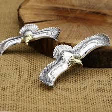 men s sterling silver eagle necklace