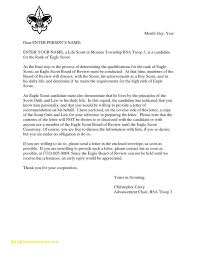 eagle scout letter of recommendation form eagle scout letter of recommendation form pdf images letter format