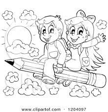 Child writing school clipart black and white   ClipartFox White paper writing service