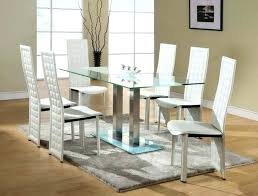glass table and chair sets dining room glass tables and chairs image of glasetal