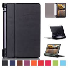luxury leather folding stand case wake cover for lenovo yoga 3 8 850f 8 tablet ebay
