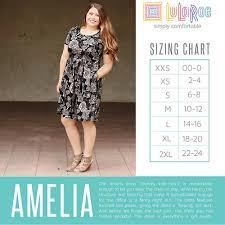 Lularoe Amelia Dress Small Nwt Pockets 33 75 Picclick