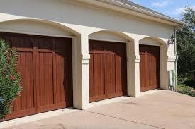 Garage Door wood garage doors photographs : Custom Wood Free Garage Door in Austin TX   Cedar Park Overhead ...