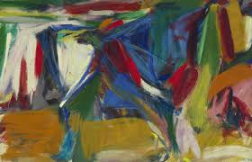 bull 1958 elaine de kooning american 1918 1989 oil on canvas gift of pamela k and william a royall jr