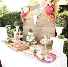 Fiesta Table Decoration Ideas Dessert Table From A Modern Fiesta On