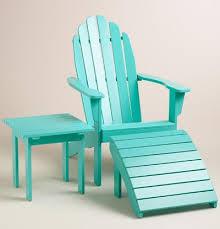 patio furniture chairs beach lagoon adirondack chair collection turquoise beach chair amp table aqu
