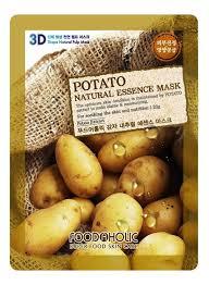 <b>Тканевая 3D маска с</b> экстрактом картофеля Potato Natural ...