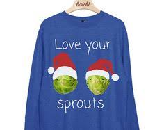 Batch1 Love Your Sprouts <b>Christmas Santa</b> Hat Womens <b>Xmas</b> ...