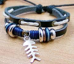 <b>Leather bracelet</b> jewellery charm bracelets for men by edwinating ...