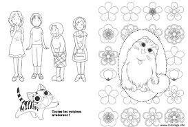 Coloriage Chat Dessin Imprimer Gratuit