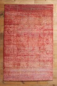 red rugs area rugs doormats runners anthropologie konya rug