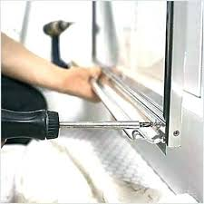 how to replace shower door sweep shower sweep with drip rail shower door drip rail and