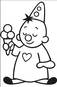 Bumba Met Ijsje Thema Ijsjes Coloring Pages Color En Silhouette